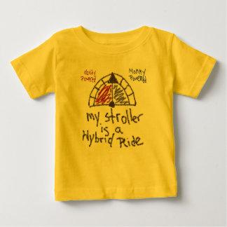 Camiseta De Bebé Niño T - Mi cochecito es un paseo híbrido