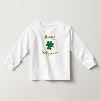 Camiseta De Bebé Niños del día de St Patrick afortunado del encanto