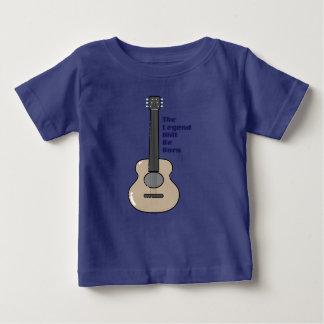 Camiseta De Bebé Niños del guitarrista