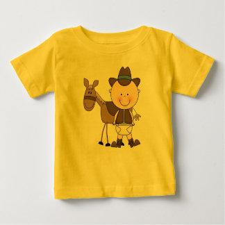 Camiseta De Bebé Niños pequeños del niño del potro del vaquero de