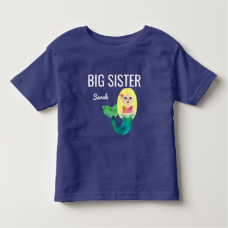 Camiseta De Bebé Niños rubios de los chicas de la sirena del falso