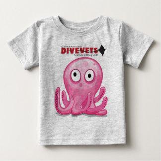 """Camiseta De Bebé Niños-T de DiveVets """"Octo"""""""