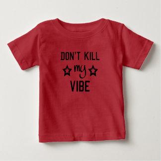 Camiseta De Bebé No mate a mis niños del ambiente