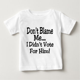 Camiseta De Bebé no me culpe