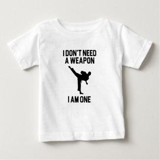 Camiseta De Bebé No necesite un arma