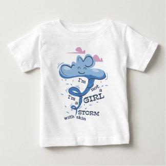 Camiseta De Bebé No soy chica que soy la tormenta