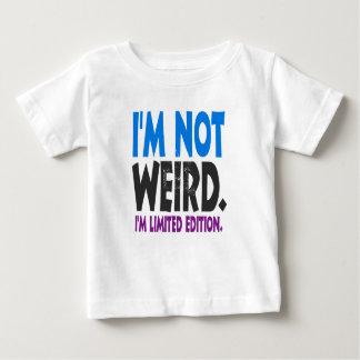 Camiseta De Bebé No soy extraño, yo soy edición limitada