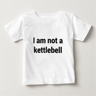 Camiseta De Bebé No soy un Kettlebell