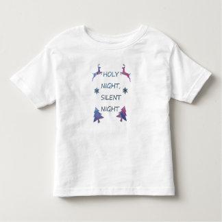 Camiseta De Bebé Noche santa, noche silenciosa