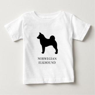 Camiseta De Bebé Noruego Elkhound