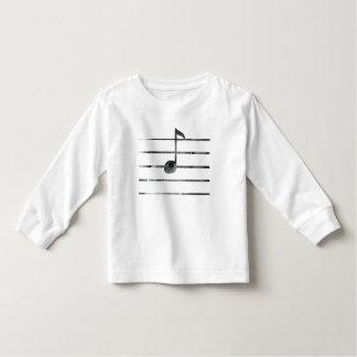 Camiseta De Bebé Nota musical