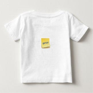 Camiseta De Bebé Nota pegajosa del genio