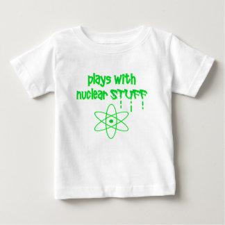 Camiseta De Bebé nuclear divertido