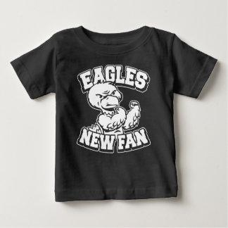 Camiseta De Bebé Nueva fan de Eagles