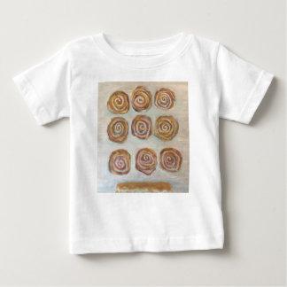 Camiseta De Bebé Nueve bollos una barra del arce