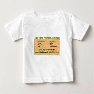 Camiseta De Bebé ¡Nuevo miembro del partido!