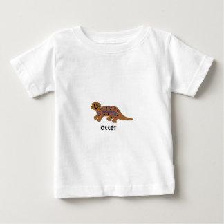 Camiseta De Bebé Nutria