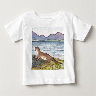 Camiseta De Bebé nutria del lago