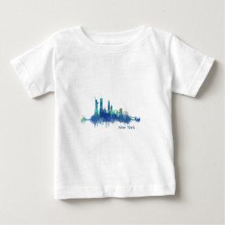 Camiseta De Bebé NYC New York Skyline v5