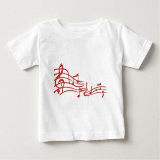 Camiseta De Bebé observa la imitación del bordado