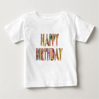 Camiseta De Bebé ocasión del fiesta de la celebración del feliz