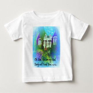 Camiseta De Bebé Oh dios usted es mi dios