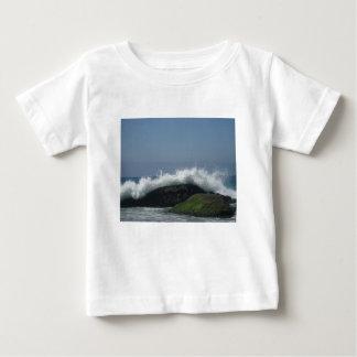 Camiseta De Bebé Olas oceánicas