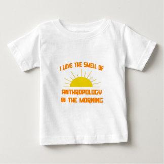 Camiseta De Bebé Olor de la antropología por la mañana