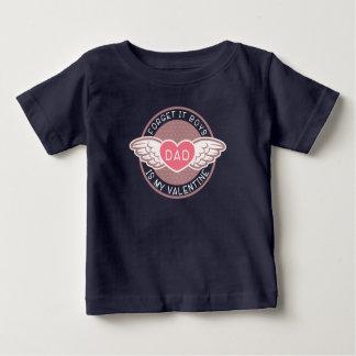 Camiseta De Bebé Olvide que papá de los muchachos es mi tarjeta del