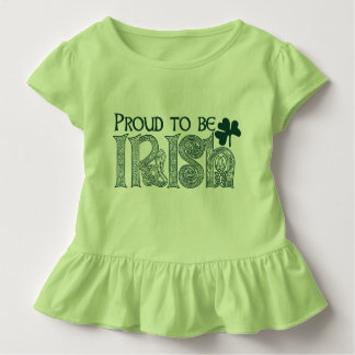 Camiseta De Bebé Orgulloso ser irlandés, nudo del Celtic del día
