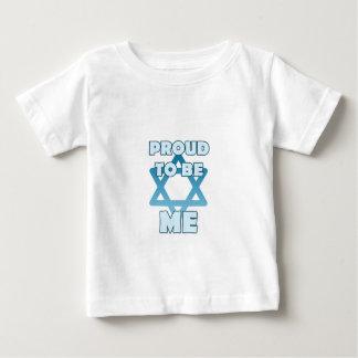 Camiseta De Bebé Orgulloso ser judío