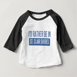 Camiseta De Bebé Orillas del St. Clair