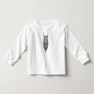 Camiseta De Bebé Ornamento azteca tribal étnico del vintage