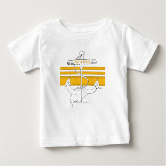 Camiseta De Bebé oro vicealmirante, fernandes tony