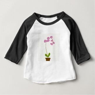 Camiseta De Bebé orquídeas