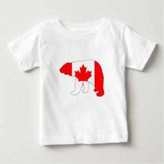 """Camiseta De Bebé Oso polar """"Canadá """""""
