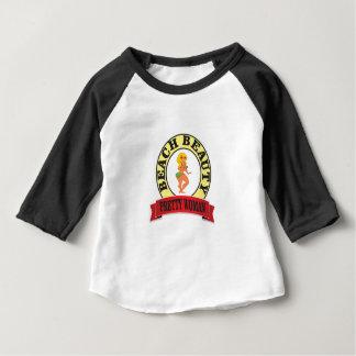 Camiseta De Bebé óvalo bonito de la mujer