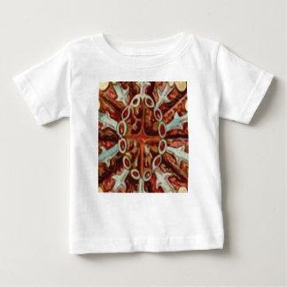 Camiseta De Bebé óvalo de figuras y de formas