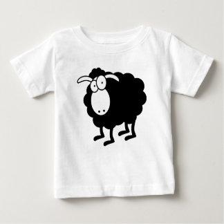 Camiseta De Bebé Ovejas negras