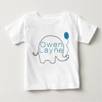 Camiseta De Bebé Owen Layne