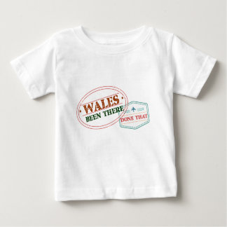 Camiseta De Bebé País de Gales allí hecho eso