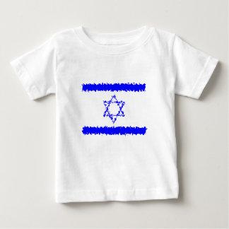 Camiseta De Bebé País del azul de Israel de las banderas