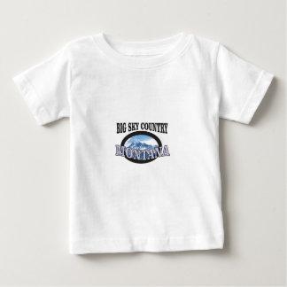 Camiseta De Bebé país grande Montana del cielo
