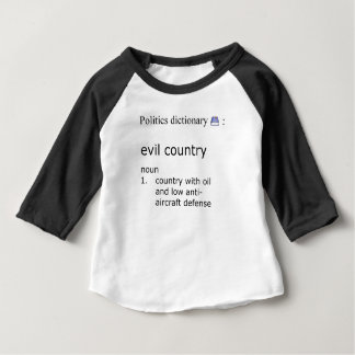 Camiseta De Bebé País malvado