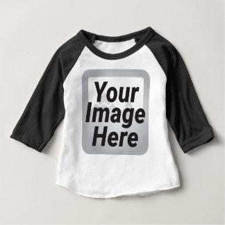 Camiseta De Bebé Paisaje marino del girasol