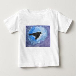 Camiseta De Bebé Pájaro en la noche