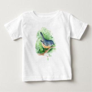 Camiseta De Bebé Pájaro en rama