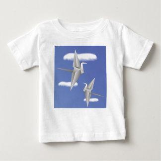 Camiseta De Bebé pájaros 78Paper _rasterized