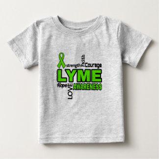 Camiseta De Bebé Palabras… Lyme