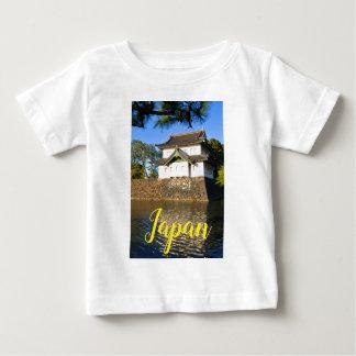 Camiseta De Bebé Palacio imperial en Tokio, Japón